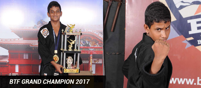 Born to fight grand champion 2017