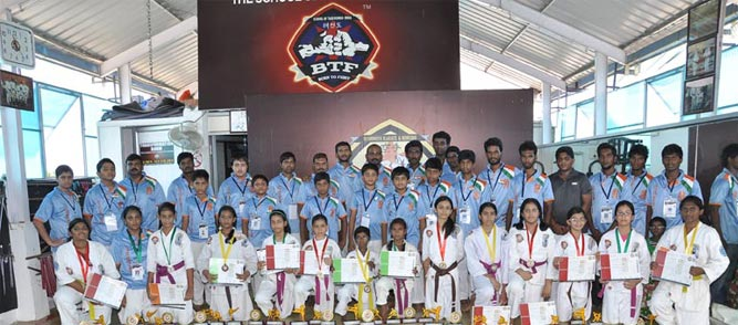karate_Institute_chennai, born_to_fight_award